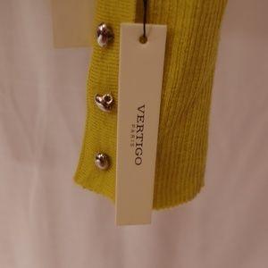 Vertigo Paris Sweaters - Vertigo Paris Wool Blend Turtleneck NWT- Sz. Med